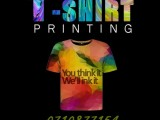 T-shirts and Trousers printing
