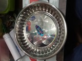 Indian silver plate
