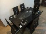 used dinning table and 06 chairs
