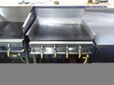 Stainless steel kitchen items for a hotel
