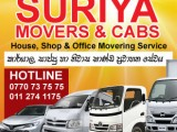 Movers In Avissawella (0770737575) Suriya Movers