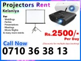 Multimedia Projectors for rent - Projectors Rent Kelaniya