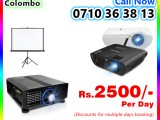 Multimedia Projectors for rent - Projectors Rent Colombo