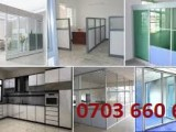 Aluminium Fabrication/interior design/Partitions island-wide service...