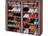 Dual Double Side Shoe Rack - 10 Layers
