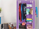 2 Door Multi-Functional Storage Wardrobe.