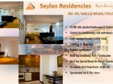 Apartment Units for Rent Seylan Residencies Galle Road Colombo 3 Starting US$2,150