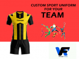 Sports Uniform Print and Embroidery