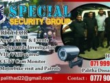 SPECIAL SECURITY GROUP