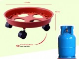 gas cylinder movable trolley base