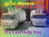 Movers In pannipitiya (0770737575) Suriya Movers