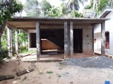 Land & under construction house for immediate  sale