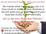 Business | Investing Partner