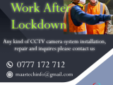 Installation and maintenance of CCTV camera security system