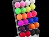 12pairs/card Multicolor Ball Stud Colorful Acrylic Earrings Ears Jewelry