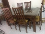 Customized Modern Teak Dining Set