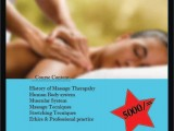 Massage therapy training course