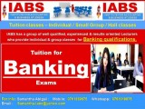Banking Classes - Individual & Group Classes