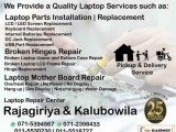 Laptop Repair Services! Chip Level in Rajagiriya