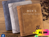 New men's good quality, classic leather wallet purse