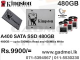 SSD Kingston A 400 120GB (3Y)
