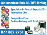 CD/DVD Writing