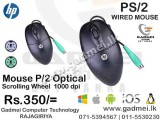 MOUSE -Vintage TJ-50 Wired Optical Mouse